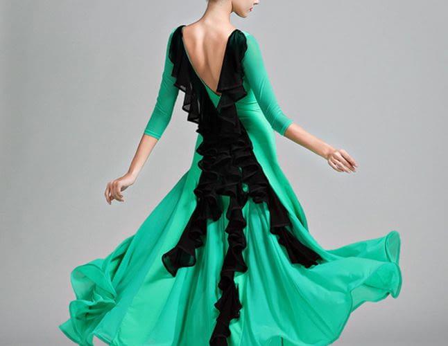 Как сшить платье для бальных танцев?