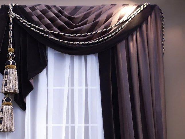 Як прикрасити карниз для штор?