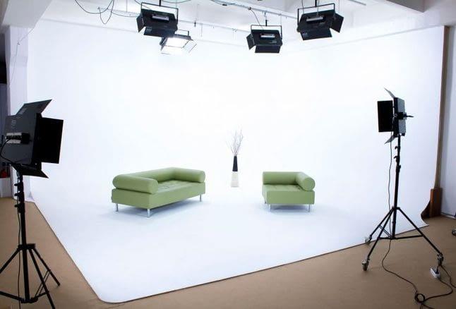 Як вибрати тканинний фон для фотостудії?