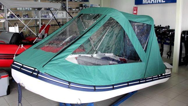 Какая ткань подходит для пошива тентов для яхт и катеров?