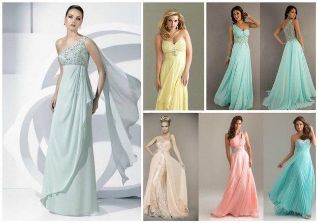Как выбрать ткань для вечернего платья
