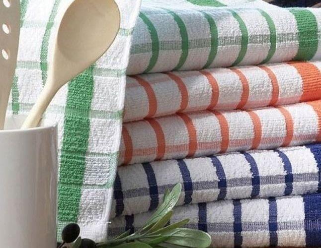 Какую ткань выбрать для кухонных полотенец