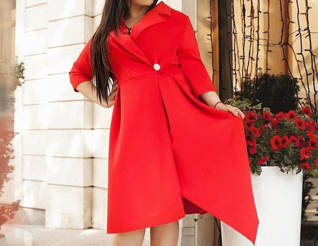 Платье из оксфорда на осень: какой фасон и цвет выбрать в 2019 году?