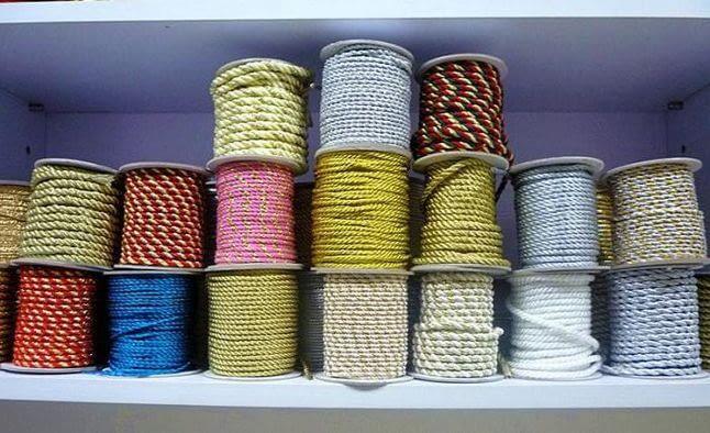 Использование шнура декоративного в рукоделии
