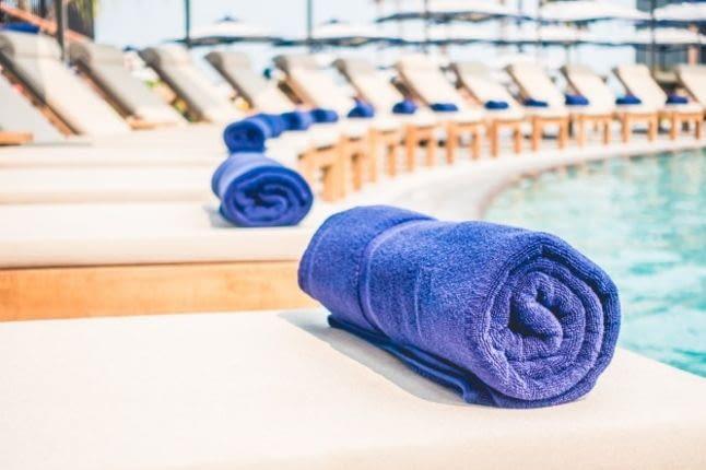 Як вибрати рушник для басейну?