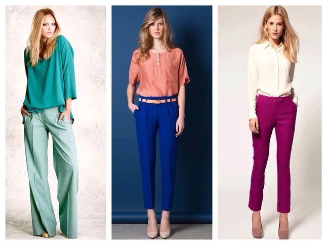 Женские брюки: правила выбора идеальной ткани