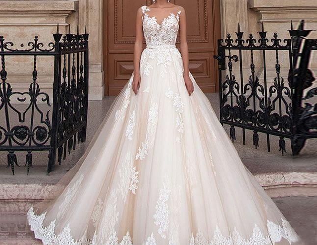 Как использовать микровуаль в свадебном наряде?