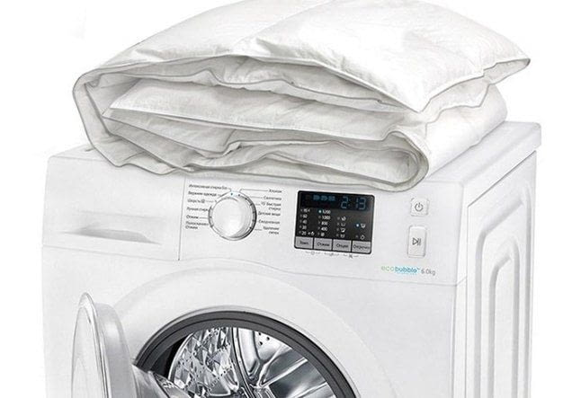 Дбайливе прання стьобаної ковдри