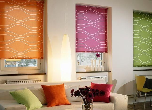 Какой текстиль подойдет для рулонных штор?