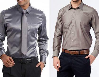 Шелк для мужских рубашек: особенности ткани, какого цвета выбрать и где взять выкройки