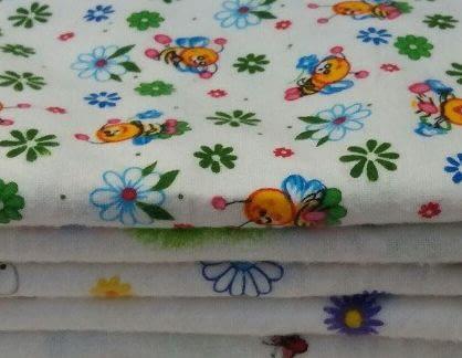 Какую ткань для пеленок на лето выбрать для новорожденного ребенка