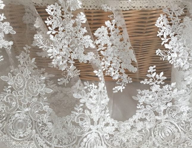 Какие свадебные ткани в моде?