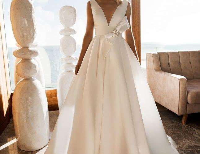 Шелк: стоит ли шить свадебное платье, как безопасно очистить