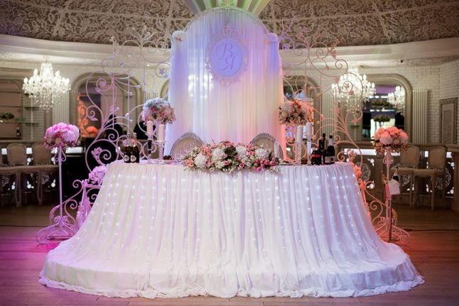 Какой текстиль выбрать для оформления свадебного зала?