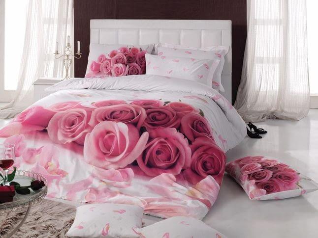Как стирать цветное  постельное белье?