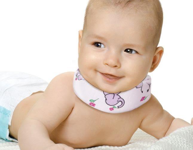 Как сделать воротник для новорожденного и зачем он нужен?
