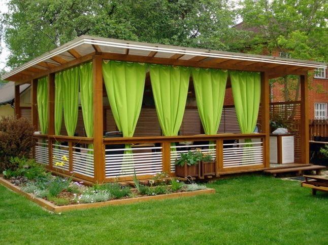 Яку тканину вибрати для захисту вікон в дачній альтанці?