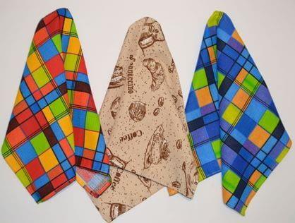 Какая ткань лучше для пошива кухонных полотенец?
