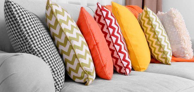 Варіанти для набивки декоративної подушки