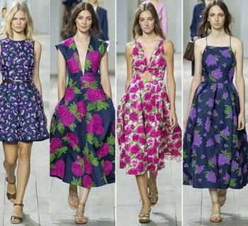 Ситец в летнем женском гардеробе: виды ткани и что пошить