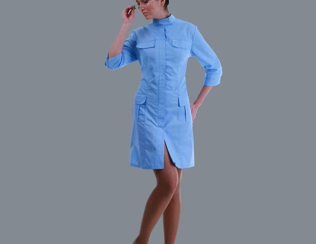 Медицинские халаты: из чего они сшиты?