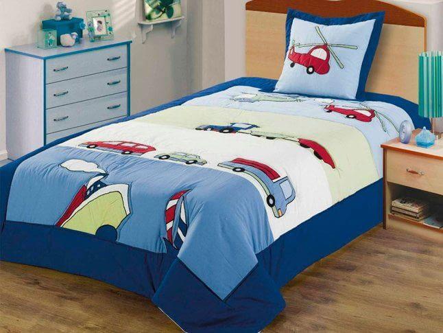 Покрывало на детскую кровать - шьем дома