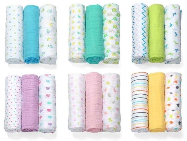 Материалы для пеленок новорожденного: чем можно безопасно стирать?