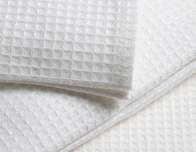 Что такое вафельная ткань для полотенец?