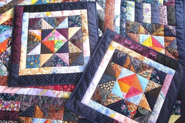 Яка тканина для печворку використовується: чи можна самостійно зробити покривало