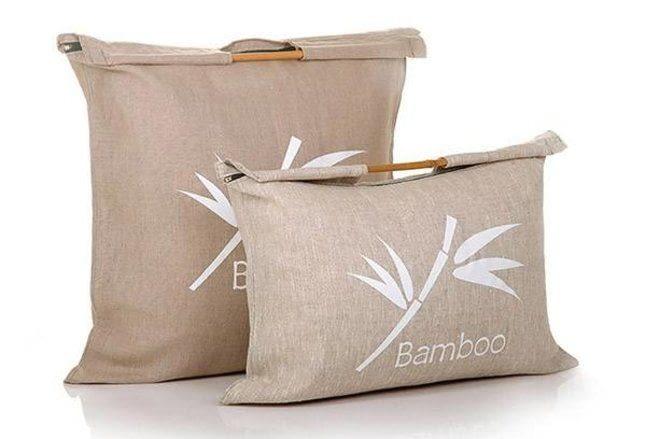 Подушки з бамбука: плюси і мінуси
