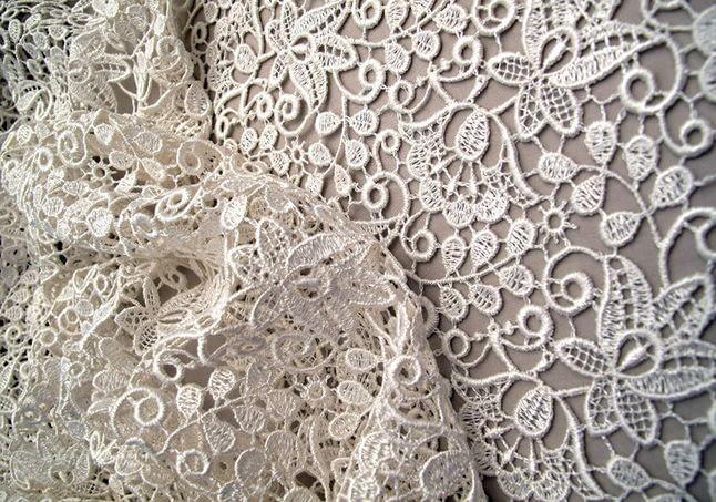 Як роблять мереживо: в яких елементах гардеробу застосовується, чим і як прати мереживну тканину