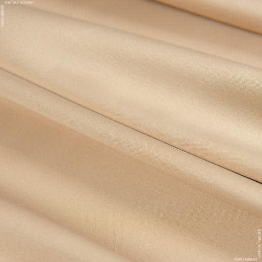 Ткани для белья - Атлас стрейч бежевый