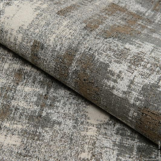 Тканини килимові покриття - Килимова доріжка  з пвх АВАЛОН ВIНТАЖ/ VINTAGE сіро-бежевий