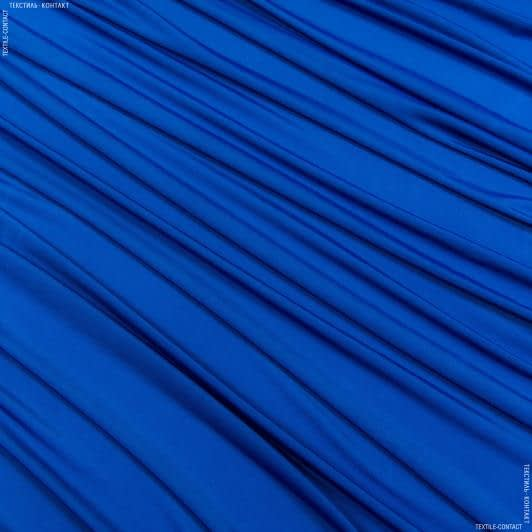 Тканини для суконь - Трикотаж масло волошковий