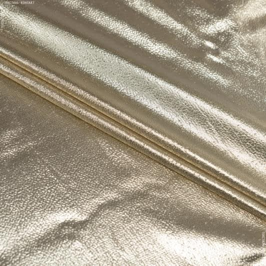 Ткани для костюмов - Парча золото