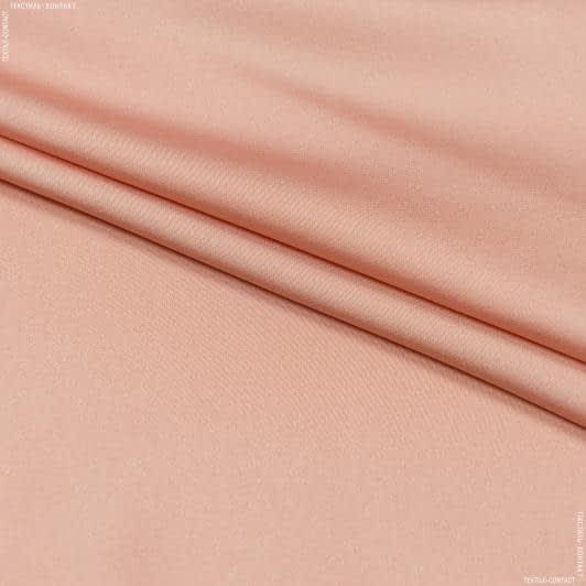 Ткани для платков и бандан - Шелк искусственный стрейч абрикосовый