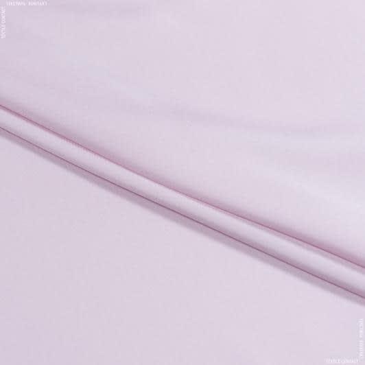 Тканини для суконь - Шовк стрейч матовий світло-рожевий