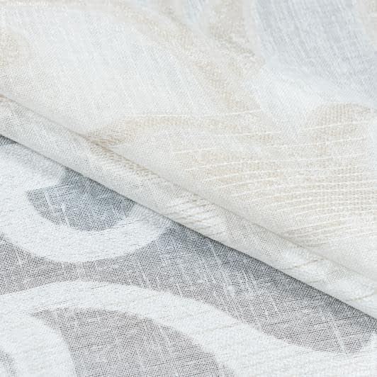 Тканини для тюлі - Тюль з обважнювачем петра / petra св.беж,молочний,беж