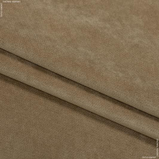 Тканини для меблів - Велюр будапешт/budapest кемел
