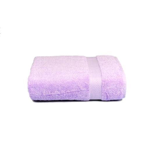 Тканини махрові рушники - Рушник махровий 70х140 ліловий