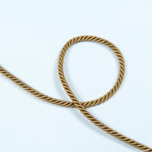 Ткани фурнитура для декора - Шнур Верона, бронза