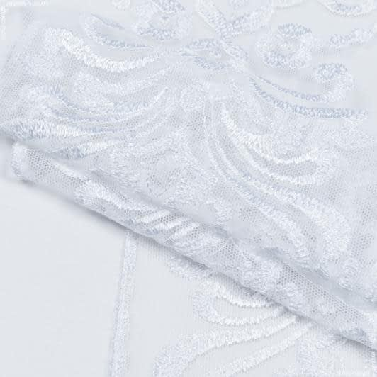 Тканини для печворку - Декоративне кмереживо верона/ білий 17 см
