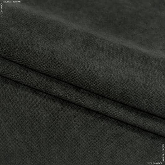 Ткани для мебели - Велюр будапешт/budapest т.мох