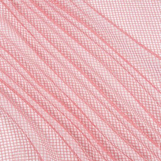 Тканини для драпірування стін і стель - Тюль сітка еліза/ фуксія