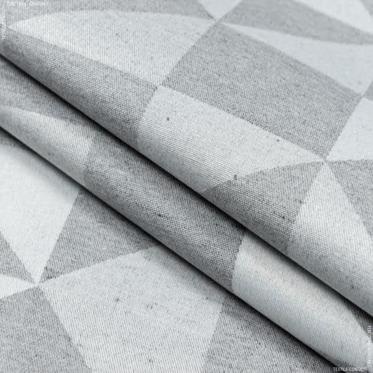 Ткани для скатертей - Ткань с акриловой пропиткой малевич абстракция / malevich серый