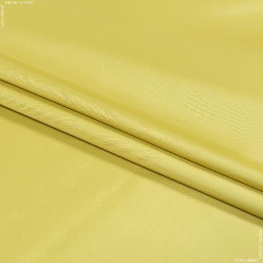 Тканини для верхнього одягу - Болонія сільвер гірчичний
