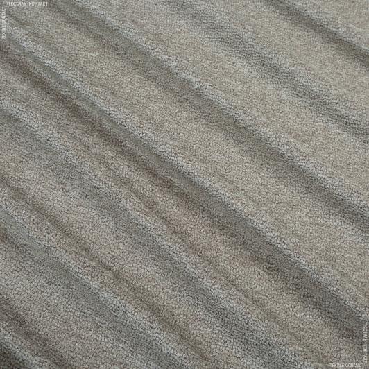 Ткани для сумок - Декор шенилл Сахара серо-бежевый