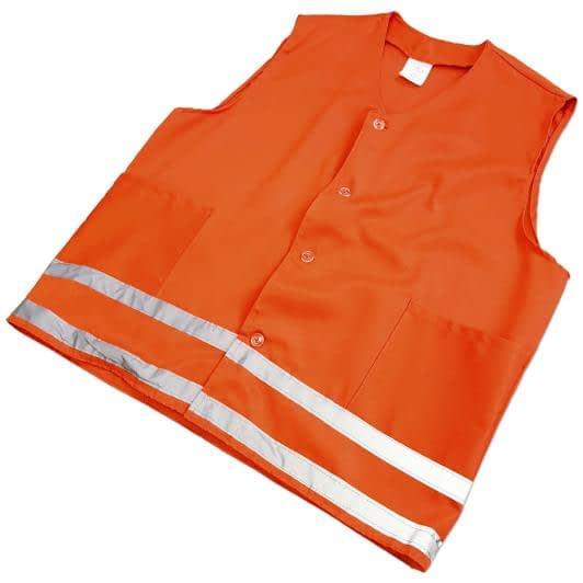 Ткани комплекты одежды - Жилет сигнальный размер 48-50/рост 170-176