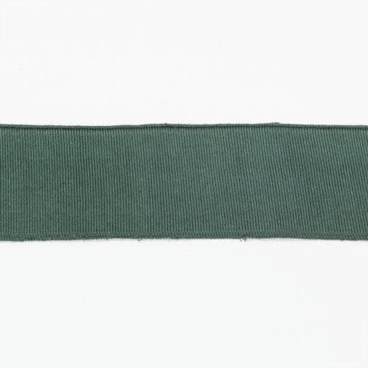 Ткани распродажа - Воротник-манжет темно-зеленый