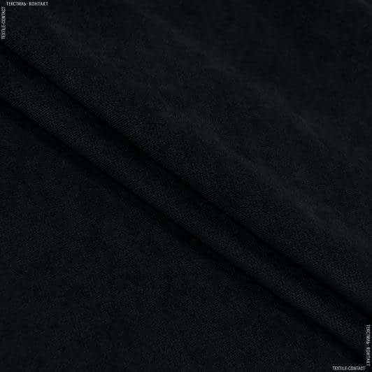 Ткани для мебели - Велюр будапешт/budapest черный